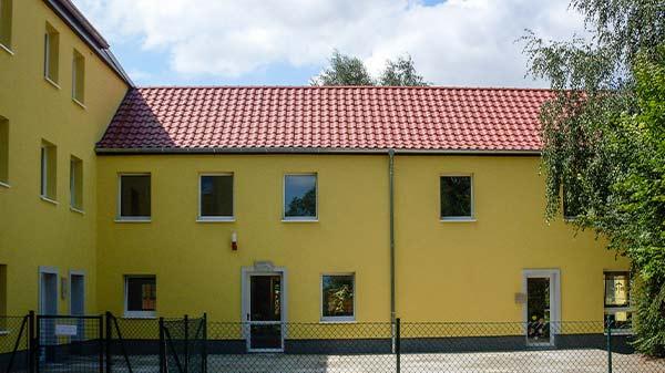 Gemeinde Gebäude 14913 Lichterfelde Dachdecker Dachbau Bolze GmbH