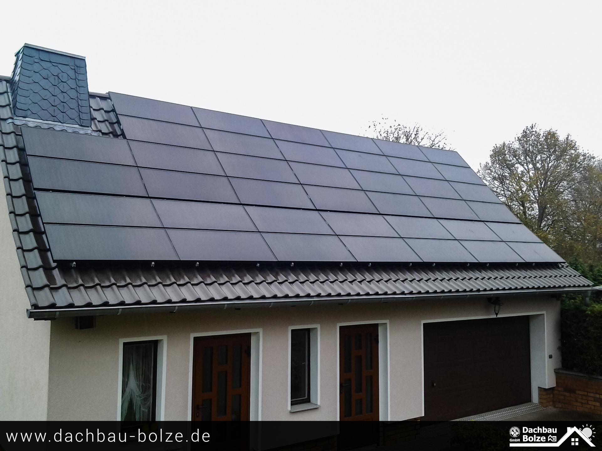 Photovoltaikanlage Dachbau-Bolze