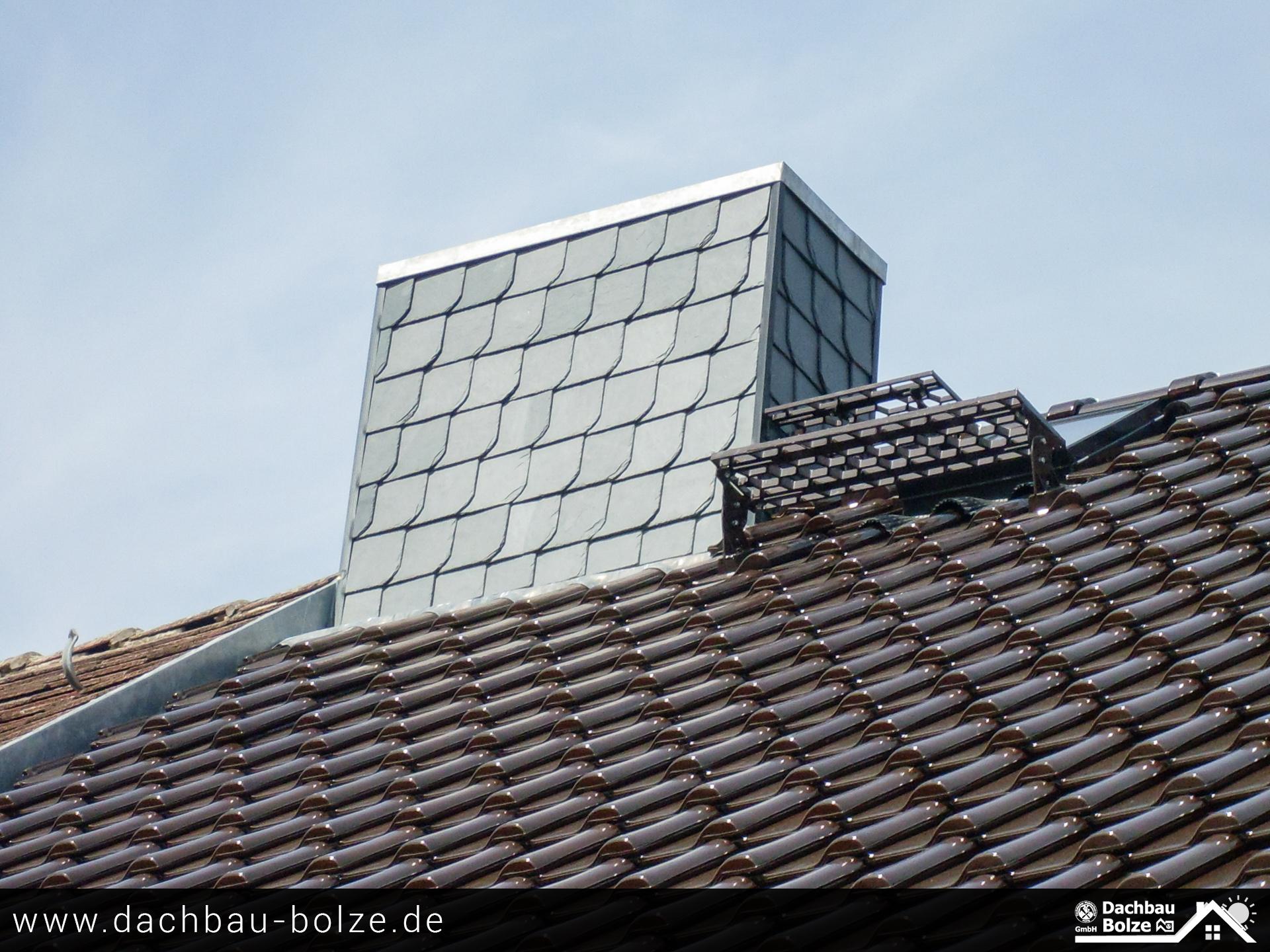 Schornstein Verkleidung Dachbau-Bolze