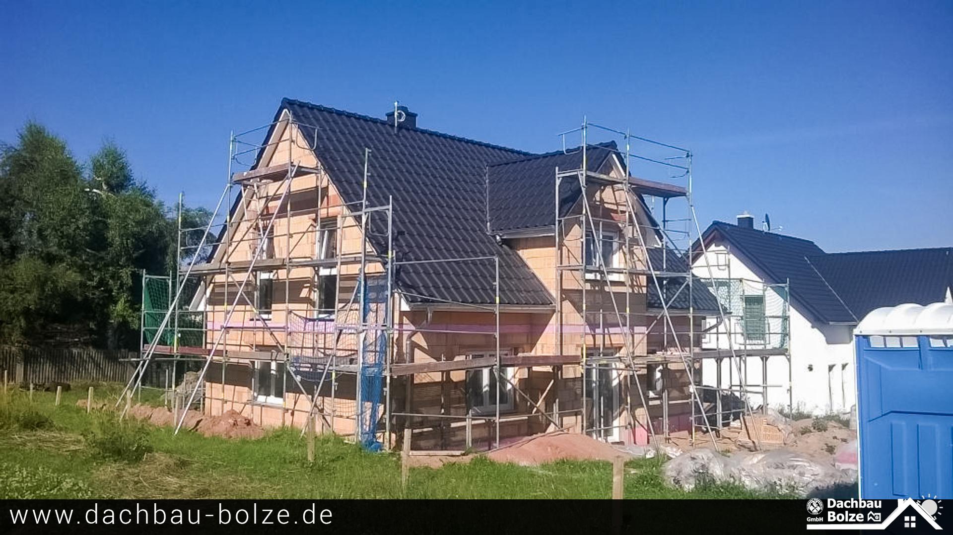 "Dachdeckerei ""Dachbau-Bolze"" Referenz"